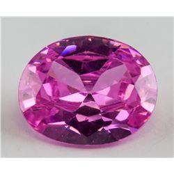 5.9 Ct Oval Cut Pink Zircon AGSL Certificate
