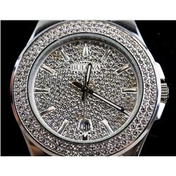 Bulova Crystal Bracelet Watch