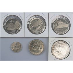 Six Assorted Coins