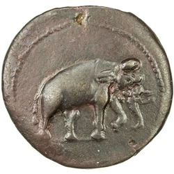 INDO-GREEK: Antimachos I Theos, ca. 185-170 BC, AE unit (6.97g). VF
