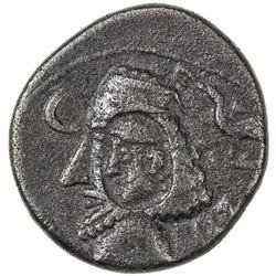 INDO-PARTHIAN: Tanlis, 1st century BC, AR drachm (2.93g). VF