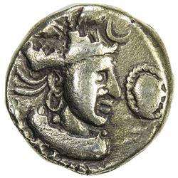 """INDO-SASANIAN: SIND: """"Rana Datasatya"""", ca. 5th century, debased AV dinar (7.12g). VF"""