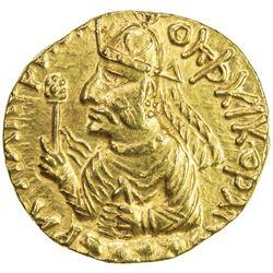 KUSHAN: Huvishka, 155-187, AV dinar (7.98g). EF-AU