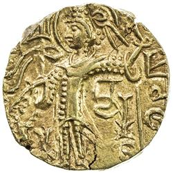 KUSHAN: Kipanada, ca. 350-375, AV dinar (7.68g). EF