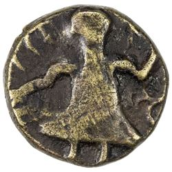POST-KUSHAN: probably 5th/6th century, debased AV (1.78g). VF