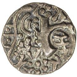 KIDARITE: Vigraha Deva, 5th century, debased AV dinar (7.31g). VF-EF