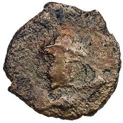 GUPTA: Chandragupta II, 383-412, AE (1.20g). F