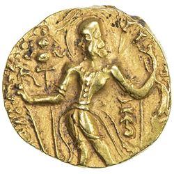GUPTA: Kumaragupta I, 409-450/52, AV dinar (8.41g). EF