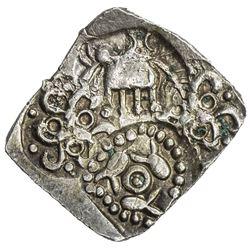 VIDARBHA: Punchmarked, ca. 500-400 BC, AR 1/2 karshapana (1.62g). EF