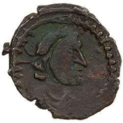 CEYLON: Anonymous, 3rd to 4th century AD, AE unit (1.67g). VF