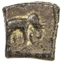 CHERA: Anonymous, 1st century BC, AE square (1.55g). VF