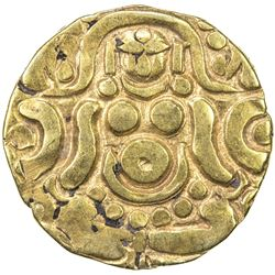 GAHADAVALAS OF KANAUJ: Govinda Chandra, ca. 1114-1154, AV 4 1/2 masha (3.86g). VF