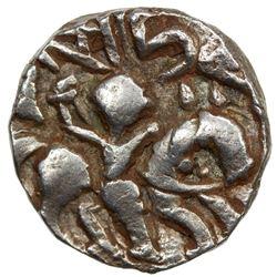 KASHMIR: Harshadeva, 1089-1101, AR dinar (3.06g). VF