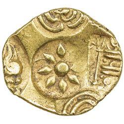 YADAVAS OF DEVAGIRI: Ramachandra, 1270-1311, AV pagoda (3.83g). EF