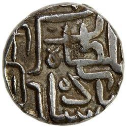 "GUJARAT: Akbar, in Gujarat, 1572-1583, AR 1/2 rupee (5.74g), NM, AH""911"". VF"