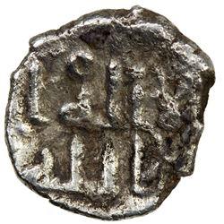 GOVERNORS OF SIND: 'Uyayna b. Musa al-Tamimi, 758-760, AR damma (0.32g). VF