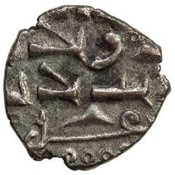HABBARID: Ibrahim, ca. 1015-1025, AR damma (0.36g). EF
