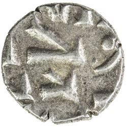 LATE HABBARID: Mansur, early 1000s, AR damma (0.44g), NM, ND. EF