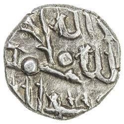 FATIMID OF MULTAN: al-'Aziz, 975-996, AR damma (0.59g), NM, ND. EF