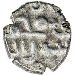 FATIMID OF MULTAN: al-Hakim, 996-1021, AR damma (0.39g), NM, ND. EF