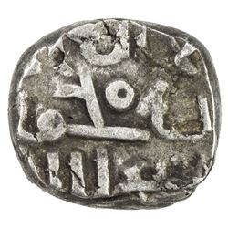 FATIMID OF MULTAN: al-Hakim, 996-1021, AR damma (0.54g), NM, ND. VF