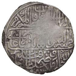 MUGHAL: Babur, 1526-1530, AR shahrukhi (4.59g), Qandahar, AH935. VF
