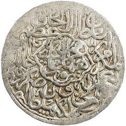 MUGHAL: Humayun, 1530-1556, AR shahrukhi (4.74g), Agra, AH(9)44. VF-EF