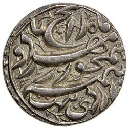 MUGHAL: Akbar I, 1556-1605, AR rupee (11.42g), Allahabad, IE45. EF-AU