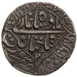 MUGHAL: Shah Jahan I, 1628-1658, AR rupee (11.35g), Surat, AH1057 year 21. AU