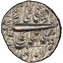 MUGHAL: Shah Jahan I, 1628-1658, AR rupee, Qandahar, year 14. PCGS MS62