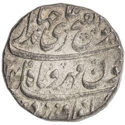 MUGHAL: Jahandar, 1712-1713, AR rupee (11.50g), Surat, AH1124 year one (ahad). UNC