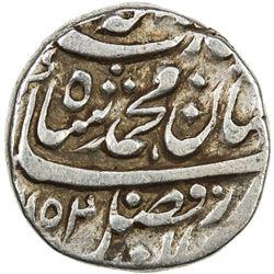 MUGHAL: Muhammad Shah, 1719-1748, AR rupee (11.39g), Bhakhar, AH1152 year 22. VF