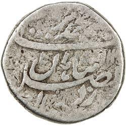 MUGHAL: Muhammad Ibrahim, 1720, AR rupee (11.18g), Shahjahanabad, year one (ahad). G