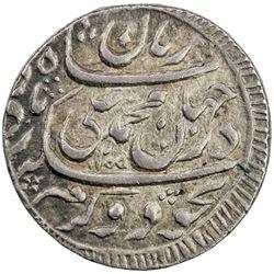 AWADH: Muhammad Ali Shah, 1837-1842, AR rupee (11.19g), Lucknow, AH1255. EF