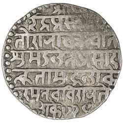 INDORE: Jaswant Rao, 1798-1811, AR nazarana rupee (11.18g), SE1728 (1806). VF