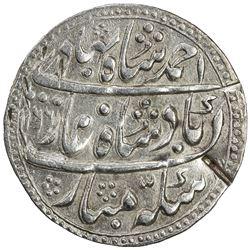 JAIPUR: AR nazarana rupee (11.04g), Sawai Jaipur, AH1166 year 6. VF-EF