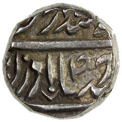 JIND: Gajpat Singh, 1764-1789, AR ahmadi rupee (10.93g), Sahrind, ND. VF-EF
