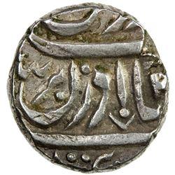 JIND: Gajpat Singh, 1764-1789, AR ahmadi rupee (10.95g), Sahrind, ND. VF