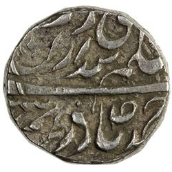 JIND: Raghubir Singh, 1864-1887, AR ahmadi rupee (11.04g) (Sahrind), ND. VF-EF