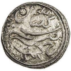 KALAYAN: Muhammad Shah Khair al-Din, 1797-1812, AR rupee (11.11g), Kalayan, ND. EF