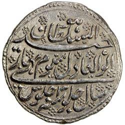 MYSORE: Tipu Sultan, 1782-1799, AR double rupee (22.64g), Patan, AH1199 year 3. EF