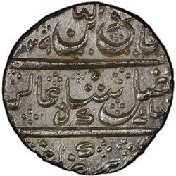 MYSORE: Krishna Raja Wodeyar, 1799-1868, AR rupee, Mysore, AH1229 year 96. PCGS MS63