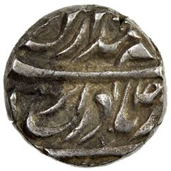 NABHA: Hamir Singh, 1755-1783, AR ahmadi rupee (11.10g) (Sahrind), ND. VF