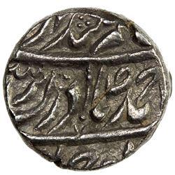 NABHA: Hamir Singh, 1755-1783, AR ahmadi rupee (10.98g) (Nabha), ND. VF