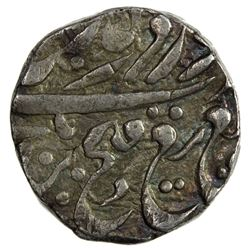 NABHA: Hira Singh, 1871-1911, AR gobindshahi rupee (10.99g), Nabha Lal, ND. VF-EF