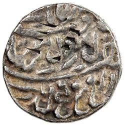 NABHA: Hira Singh, 1871-1911, AR gobindshahi rupee (11.17g), Nabha Lal, ND. VF
