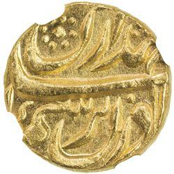 "PATIALA: Amar Singh, 1765-1781, AV mohur (10.73g), ""Sahrind"", ND. NGC MS63"