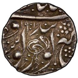 SIKH EMPIRE: AR 1/2 rupee, Amritsar, VS1901. PCGS AU50