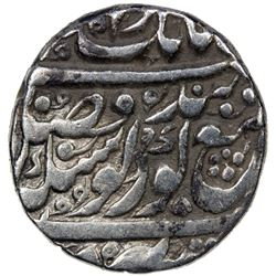 SIKH EMPIRE: AR nanakshahi rupee (11.07g), Amritsar, VS1846. VF