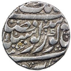 SIKH EMPIRE: AR nanakshahi rupee (11.09g), Amritsar, VS1854. VF
